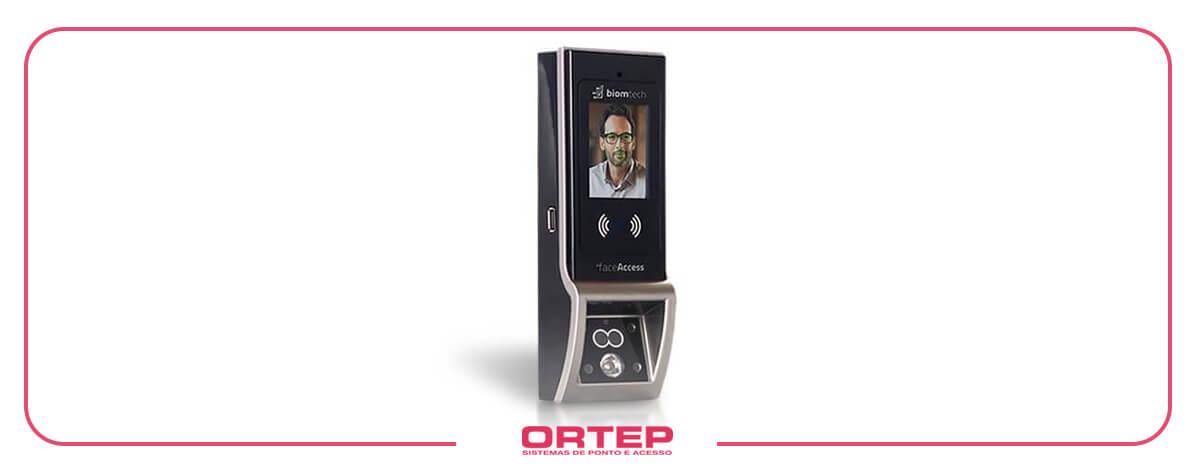 biometria facial controle de acesso face access biomtech