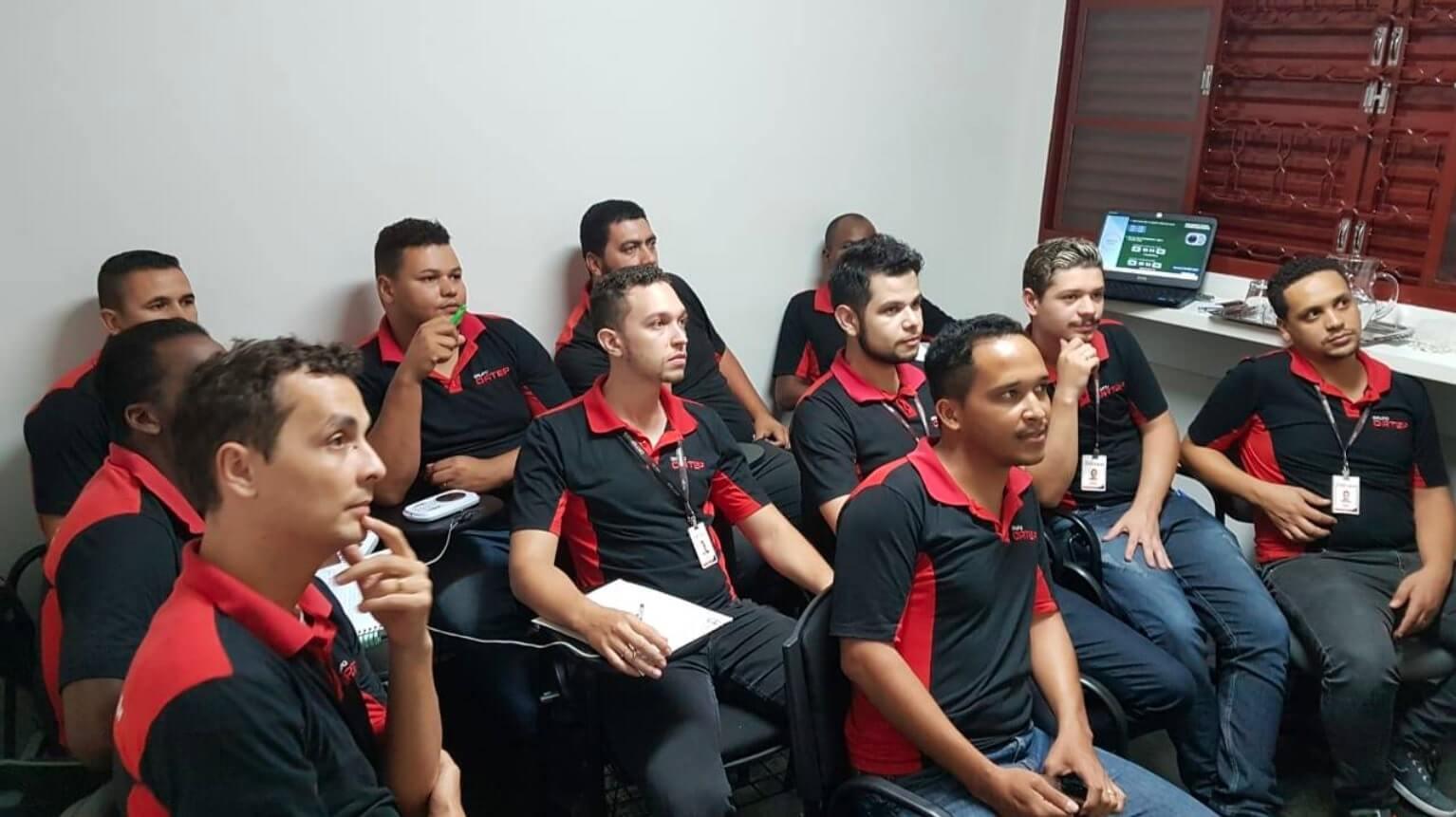 Treinamento equipe Ortep