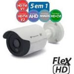 Câmera Bullet Tecvoz Flex 5 em 1 HD-TVI IR 25Mts. 1.0mp