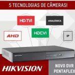 DVR Digital Hikvision Penta Flex 5 em 1 FULL HD