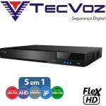 DVR Digital TecVoz Flex 5 em 1 FULL HD