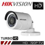 Câmera Bullet Hikvision HD IR 20mts. Penta Flex 5 em 1